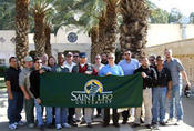<strong>2013 Advanced Training with Saint Leo University Students</strong>