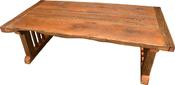<strong>Custom made furniture made from reclaimed wood.</strong>