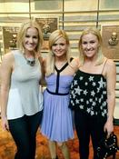 <strong>The designers with Miranda Lambert at the private reception for Miranda Lambert's new Country Music Hall of Fame exhibit</strong>