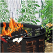 <strong>S'mores forks are a must for the backyard campfire.</strong>