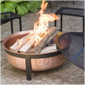 <strong>Fire Tubs contain fires safely when you're camping in the backyard.</strong>