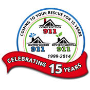 <strong>Construction 911 in Southern California Celebrating 15 Years of Coming to Your Rescue!</strong>