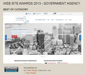 MassBigData website and Horizon Interactive Award