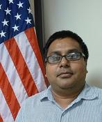 <strong>Nabarun Chakraborty, U.S. Army Center for Environmental Health Research. Image Credit: Debjani Roy</strong>