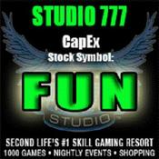<strong>STUDIO 777 closed Capital Exchange Stock Market Simulation Game's largest IPO ever with over 4 million shares sold. Trade at http://www.slcapex.com/trades/symbol/FUN</strong>