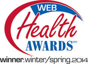 <strong>Web Health Awards Winner</strong>