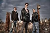 <strong>New Alternative Rock band rising from L.A. suburbs: The Rift featuring (l-r) John Anagnos, Aris Anagnos, Max Pfisterer</strong>