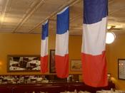 <strong>Bastille Day Decorations at Bistrot Zinc</strong>