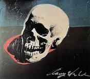 <strong>Andy WARHOL, &quot;Skull&quot;, signed special print</strong>