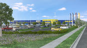 <strong>IKEA's new and expanded 399,000-square-foot store in Renton, Washington, will feature two levels of shopping and nearly 1,700 convenient parking places.</strong>