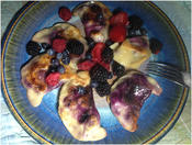 <strong>Blueberry Pierogi ($6-$9) from Delightful Pastries</strong>