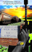 <strong>Revolution High Book 1: AEMPCoin book cover</strong>