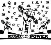 <strong>Art is Power Music is Power Logo</strong>