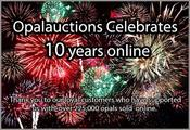 <strong>Opalauctions celebrating 10 years online with over 225,000 opals sold in 68 countries</strong>