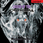 <strong>Legend of the Chupacabra audiobook cover</strong>