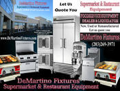 <strong>DeMartino Restaurant Equipment and Supermarket Equipment 