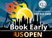 <strong>Book Early for the US Open</strong>