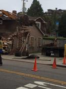 <strong>Demolition of Old Building at 401 & 403 Capitola Ave.</strong>