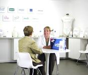 <strong>The Healthwick Learning Centre provides a confidential space for one-on-one incontinence product consultations.</strong>