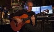 <strong>Roger Scannura, composing his Flamenco version of the Kol Nidre (titled Todos Los Votos)</strong>