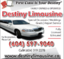 Travel in Style with Destiny Limousine Ltd - Vancouver Airport Limo Service. We Offers a Stylish but Affordable Vancouver Limo Ride to and from the Vancouver Airport, Surrey, Langley, Richmond