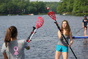 <strong>Players of all abilities can enjoy playing lacrosse on water with Paddle Polo sticks.</strong>