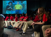 <strong>More than 43 million students across the globe have been reached by space station educational endeavors. Credits: NASA/Carla Cioffi</strong>