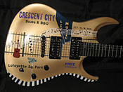 <strong>2015 Crescent City Blues & BBQ Festival Guitar</strong>