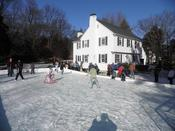 Ice Rink In Use - Family Fun!