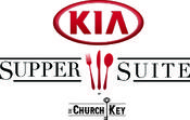 <strong>new Kia Supper Suite by The Church Key logo for January 2016</strong>