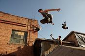 <strong>Ewan Burns captures the amazing skills of these WFPF parkour athletes.</strong>