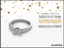 GLAMIRA Prize Draw: EUR 5000 Diamond Ring has a New Owner!