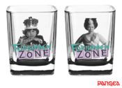 Forbidden Zone Shot Glasses