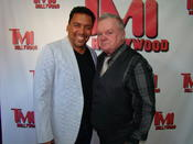 <strong>Felix Solis (ABC's The Family) and Jack McGee (The Fighter) on the red carpet. Photo Credit Bill Kelly</strong>