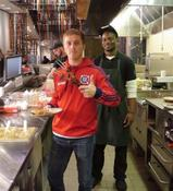 <strong>Chicago Fire Player at Nando's</strong>