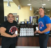 <strong>Powerhouse Gym Novi, MI. Will Dabish Founder of Powerhouse Gym International with Dave Cavender of Fat Burner Plus</strong>