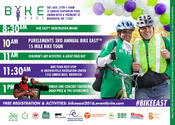 2016 Bike East, presented by Purelements, an Evolution in Dance | Gershwin/Linden Park
