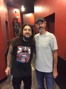 <strong>Mark Begelman With Mike Portnoy of Dream Theater</strong>