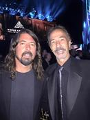 <strong>Mark Begelman and Dave Grohl At The Rock & Roll Hall Of Fame</strong>