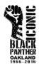 Iconic Black Panther Celebrates 50 Years of the Black Panthers - Ground Breaking Art Exhibit to Open in Oakland, California the Birthplace of the Black Panther Party October 7, 2016