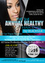 BlackSilk Announce 3rd Annual Healthy Hair Expo