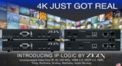 <strong>Zigen IP-LOGIC uncompressed Video over IP, 4K, 600 MHz, HDMI 2.0, HDCP.2.2, HDR, Tiling, Multiview, Matrixing, and Audio Routing.</strong>