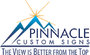 National TV Series Behind the Scenes to Feature Sign Company Pinnacle Custom Signs