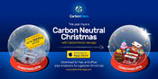 Offset your emissions and enjoy a carbon neutral holiday season!