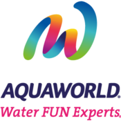AquaWorld's logo.