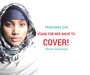 World Hijab Day For Solidarity With Muslim Women On February 1