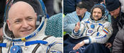 <strong>NASA astronaut Scott Kelly of NASA and Russian cosmonaut Mikhail Kornienko returned from their year-long mission aboard the space station on March 1.</strong>