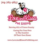 <strong>Pet Sitter, Dog Walker, Cat Sitter in South Charlotte NC caring for your pets in the comfort of their own home</strong>