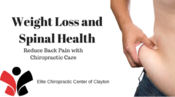 <strong>Weight loss, obesity, back pain, and spinal health</strong>