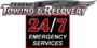 Teresas Towing and Recovery Offers Emergency Towing and Wrecker Service for Large Trucks, Semi-Trucks and Heavy Equipment or Machinery Throughout Southern California Including Bakersfield